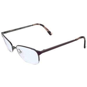 Gucci gunmetal pink enamel eyeglasses frames